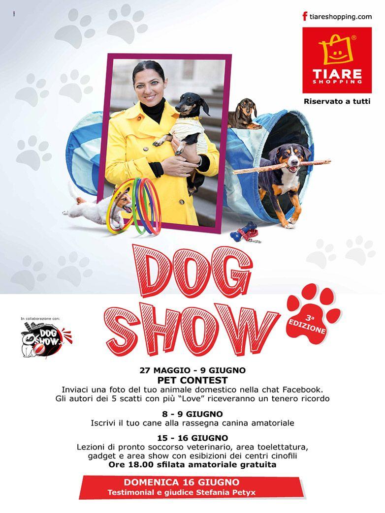 DogShow presso il centro commerciale Tiare