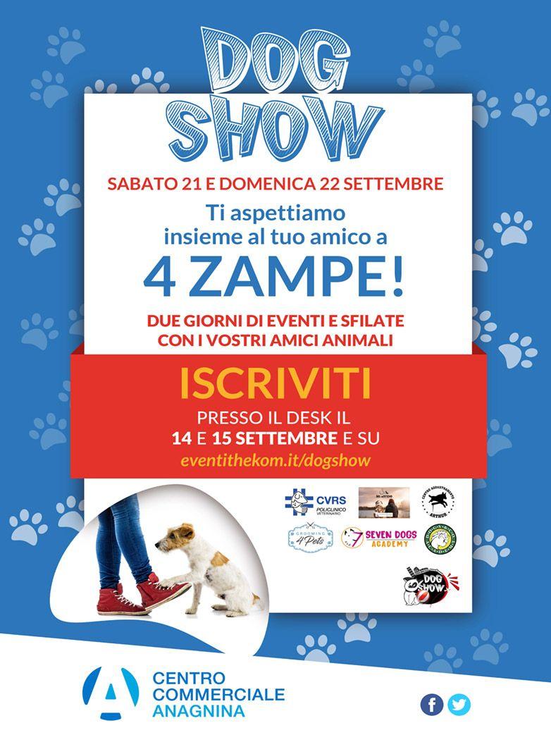 DogShow presso il c.c. Anagnina di Roma