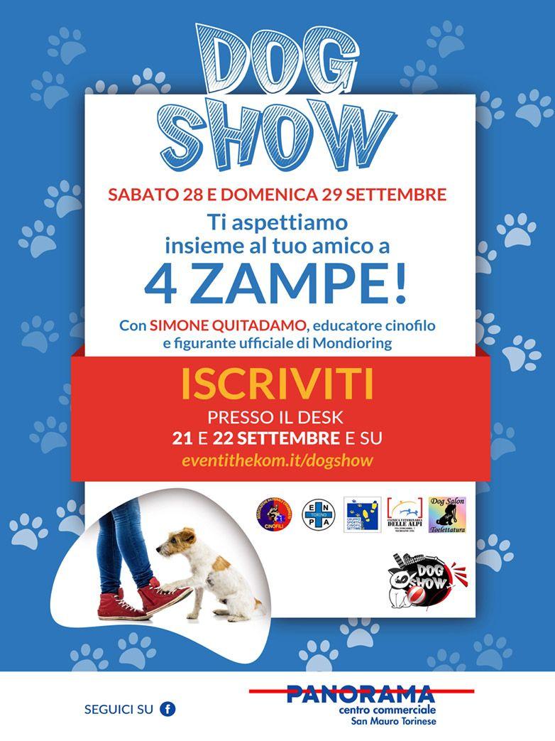 DogShow presso il c.c. Panorama San Mauro Torinese