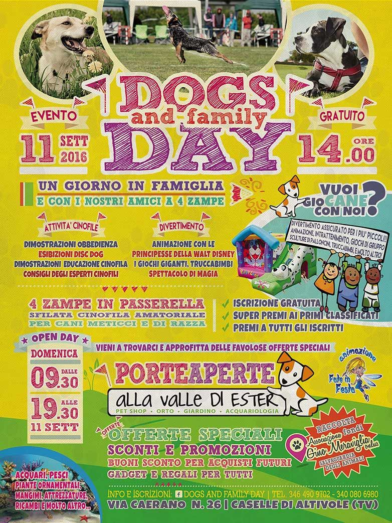 Iscriviti alla Passerella cinofila del Dog and Family Day